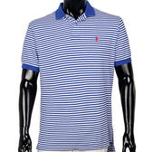 RALPH LAUREN POLO衫-經典橫紋(深藍白色)-780350-8