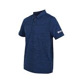 FIRESTAR男彈性短袖POLO衫(短袖上衣 慢跑 路跑≡體院≡ D9253