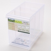 FINE 隔板整理盒 附輪 深型款 9.8L LF2003 30.5x16.8x24cm