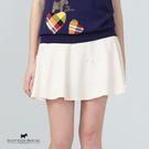 立體小蝴蝶結裝飾短圓裙【AE2153】