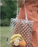 梵花不語透明果凍包包女包新款2019夏季時尚簡約單肩包手提購物袋