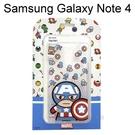 復仇者聯盟Q版透明軟殼 [美國隊長] Samsung Galaxy Note 4 N910U【正版授權】