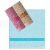 素色彩緞毛巾【顏色隨機出貨】