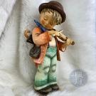 BRAND楓月 GOEBEL 高寶 拉小提琴男孩 陶瓷擺飾 居家擺設 藝術品