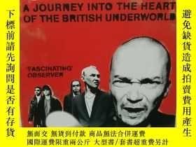 二手書博民逛書店英國黑社會研究罕見Gangs :A Journey Into t