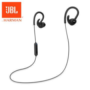【台中平價鋪】全新『 JBL Reflect Contour 黑色 』 耳掛式運動無線藍牙耳機/藍芽4.0/防汗/反光線