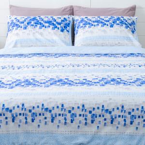 HOLA 希河木棉絲涼被枕套三件組 單人