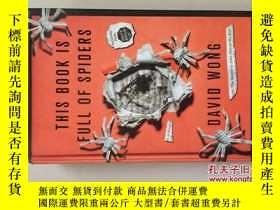 二手書博民逛書店This罕見Book is Full of Spiders: S