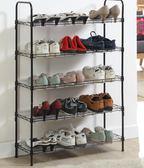 金屬多層鞋架 宜家簡易鞋架鞋柜經濟型 送防塵PP墊片igo     琉璃美衣
