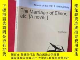 二手書博民逛書店The罕見Marriage of Elinor, Etc. [A
