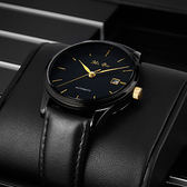 男士手錶防水時尚新款全自動機械錶男錶皮概念學生潮特種兵YS-新年聚優惠