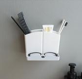 牙刷架 梳子架放梳子的收納筒浴室壁掛衛生間免打孔牙膏盒牙刷梳子置物架
