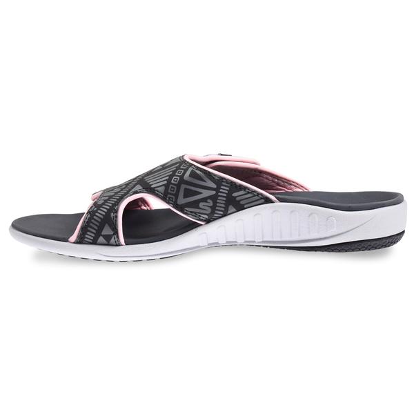 《Spenco》TRIBAL SLIDE 女 涼拖鞋 灰色 SF39-869