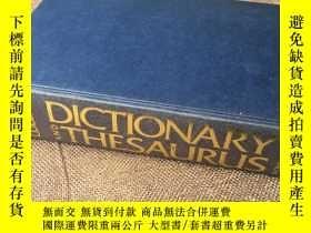 二手書博民逛書店The罕見Collins Dictionary and Thes