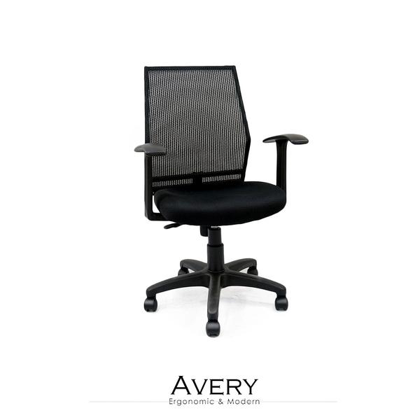 辦公椅/電腦椅 Avery透氣網布電腦椅【obis】