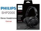 【金聲樂器】PHILIPS 飛利浦高音質耳罩式耳機SHP2000 - 保固 隔絕干擾 立體音感
