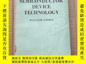 二手書博民逛書店semiconductor罕見device technology(P373)Y173412