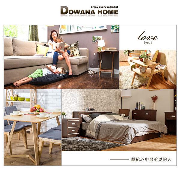 【多瓦娜】金斯敦多功能貓抓皮沙發床-咖啡色-1250