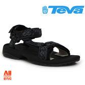 【Teva】男款 TERRA FI LITE織帶機能運動涼鞋 - 黑 (1001473KBL)【全方位運動戶外館】
