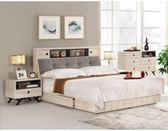 【新北大】✪ B061-2 優娜5尺被櫥式雙人床(床頭+床底)-18購