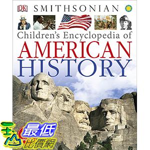 [106美國直購] 2017美國暢銷兒童書 Children s Encyclopedia of American History Hardcover