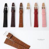 皮革紋路錶帶 自行DIY更換錶帶 柒彩年代【NEA5】