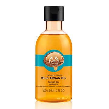 【THE BODY SHOP】摩洛哥堅果油沐浴膠250ml
