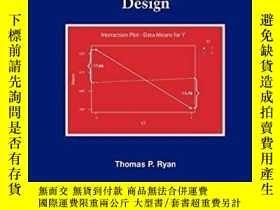 二手書博民逛書店Modern罕見Experimental DesignY256260 Thomas P. Ryan John