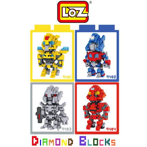 LOZ 迷你鑽石小積木 大黃蜂 柯博文 密卡登 螯刺 樂高式 組合玩具 益智玩具 原廠正版