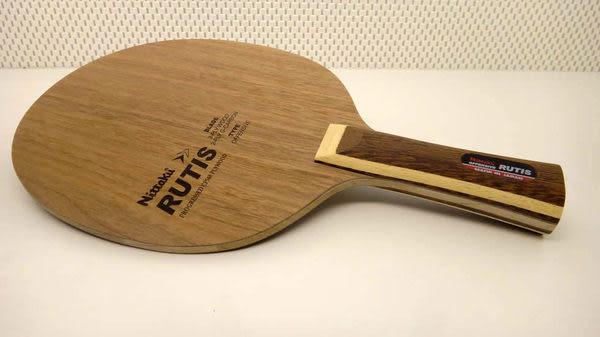 Nittaku RUTIS 胡桃木玻璃纖維板 桌球拍