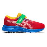 Asics Pre Excite 7 Ps [1014A101-601] 中童鞋 運動 休閒 慢跑 回彈 透氣 緩衝 紅