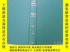 二手書博民逛書店THE罕見LAW REPORTS QUEENS BENCH DI