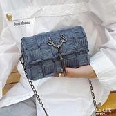 手工編織包包diy材料包絲帶毛線網格自制單肩斜跨包女包(非成品) 艾瑞斯