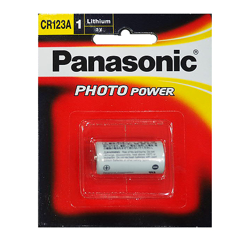 Panasonic CR123A / CR-123A 一次性鋰電池 CR123 電池
