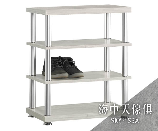 {{ 海中天休閒傢俱廣場 }} G-02 摩登時尚 鞋架系列 421-5 2尺白雪杉四層鞋架