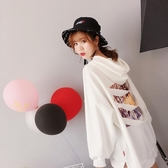 不規則大學T女秋裝新款長袖寬鬆韓版上衣服春秋外套慵懶風薄款 居享優品