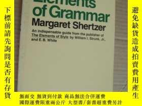 二手書博民逛書店The罕見Elements of GrammarY85718 M