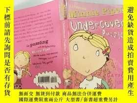 二手書博民逛書店Minnie罕見Piper: Undercover Puzzler 米妮· 派珀:臥底謎語Y200392