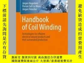 二手書博民逛書店Handbook罕見of Coil WindingY405706 Jurgen Fleischer ISBN
