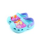 Disney Frozen 迪士尼 冰雪奇緣 涼鞋 花園鞋 童鞋 水藍色 中童 FOKS94025 no673