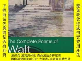 二手書博民逛書店Complete罕見Poems of Whitman (Wordsworth Poetry Library) (英