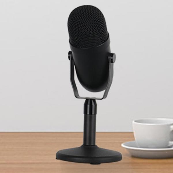 實力工廠 私模電容麥克風電腦USB錄音游戲直播K歌桌面話筒type-c 端午節特惠