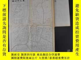 二手書博民逛書店(特2309)侵華史料罕見明治時期 《臺北市地圖》《馬公案內圖》