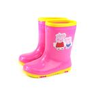 粉紅豬小妹 Peppa Pig 雨鞋 雨靴 桃紅色 中童 童鞋 PG8532 no810
