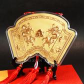 神明金牌-春秋雙龍祝壽(大)-23cm (0.20錢)