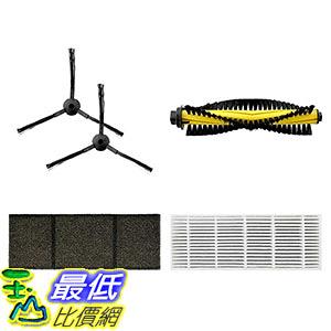[106美國直購] ECOVACS Accessory Kit 吸塵器周邊 for DEEBOT M82 Robotic Vacuum Cleaner