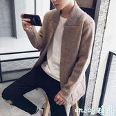 【618好康又一發】針織外套 秋冬新款毛衣男裝外套