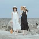 Queen Shop【01085489】簡約純色蛋糕造型無袖洋裝 兩色售*現+預*