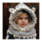 毛帽 萌卡通可愛針織毛線帽【YJM-A146】 BOBI