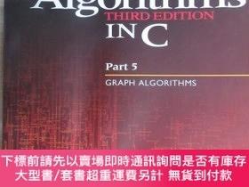 二手書博民逛書店英文書:Algorithms罕見IN C(Part 5:GRAPH ALGORITHMS) 16開482開 有水印